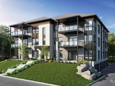 Faubourg Cousineau - phase 2 - condos - New homes in Monteregie