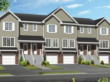 Faubourgs du Majestueux - townhouses by Les Habitations Jules Morin - New houses in Quebec: $150 001 - $200 000