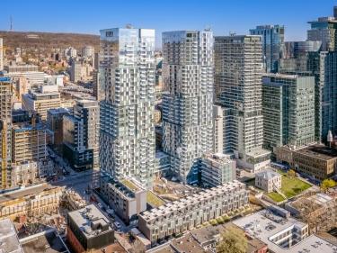 YUL 2 Condominiums - Condos neufs dans HOMA avec gym: 3 chambres