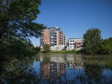 Les Condos Notre Dame - Condos neufs à Joliette en construction: 1 chambre, 250001$ - 300000$