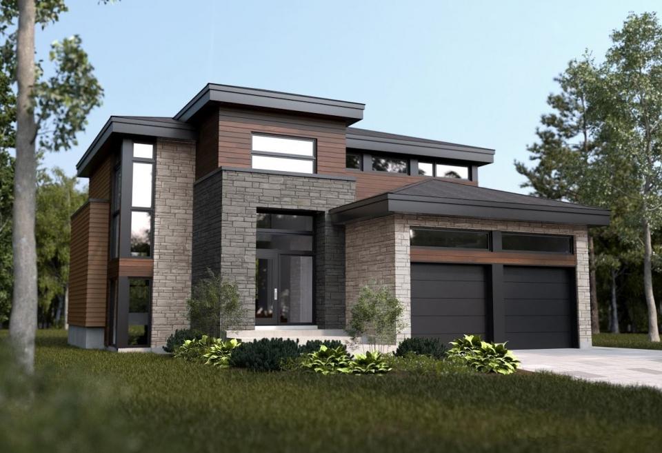 Projet albatros maisons unifamiliales maisons saint eustache - Modele d architecture de maison ...