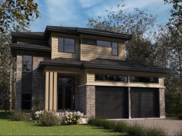 Les Jardins du Ruisseau - New houses in Saint-Sauveur in delivery: $200 001 - $250 000