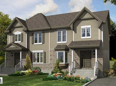 Les Faubourgs du Golf St-Zotique - New houses in Sainte-Barbe in delivery