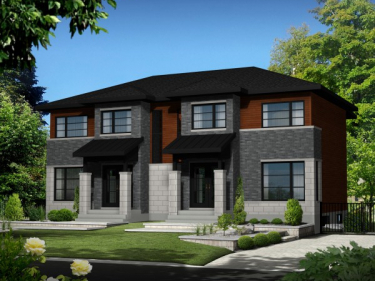 Domaine Jacques-Cartier sud - houses - New houses in Mont-Saint-Grégoire in delivery