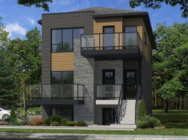 Faubourg Cousineau - phase 2 - houses - New houses in Quebec