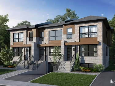 Faubourg Cousineau - phase 2 - townhouses - New homes in Monteregie