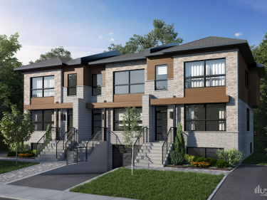 Faubourg Cousineau - phase 3 - townhouses - New houses in Longueuil