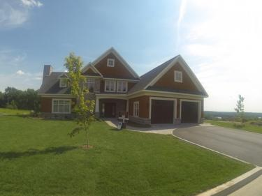 Les Hauteurs de Sweetsburg - New houses at Lac-Brome in delivery