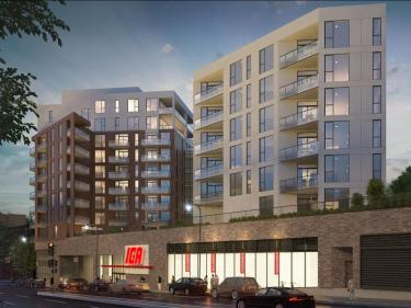 Beaumont - New condos in Cote-des-Neiges with model units