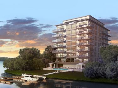 Condos Eauvie - New condos in Laval with outdoor parking