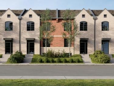 Pointe Est - Maisons de ville - Maisons neuves en Montérégie avec unités modèles: 350001$ - 400000$