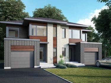 Symbiocité - maisons par Les Habitations Pilon - Maisons neuves à Laprairie