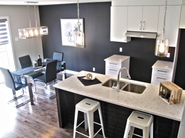 Urbanova - townhouses by Cloutier et fils - New houses in Terrebonne