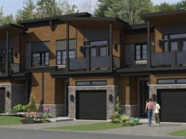 Pure Tremblant - New houses in Mont-Tremblant in delivery near a train station
