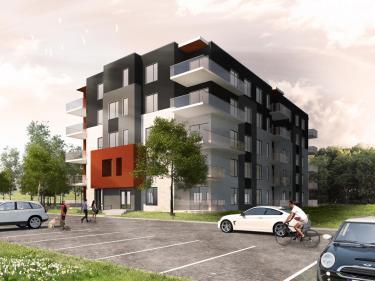 Oxygène Habitat urbain - phase 2 - Condos neufs sur la Rive-Nord: 1 chambre