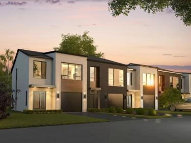 Projet Albatros - townhouses - New houses in the Laurentians: 3 bedrooms