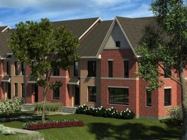 Le Quartz - townhouses - New houses in Quebec: 2 bedrooms, $300 001 - $350 000