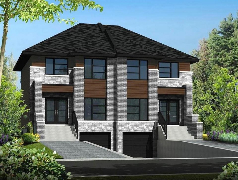 Maison moderne quebec 243 139 taxes en sus terrain inclus for Maison moderne montreal