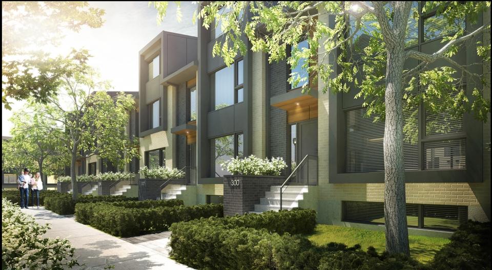 Le quatrime townhouses houses in dorval le quatrime townhouses image 0 solutioingenieria Image collections