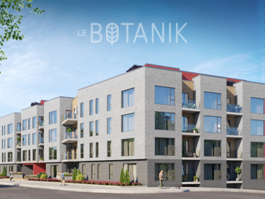 Le Botanik - phase 2 - New condos in Rosemont with model units with elevator near a train station with pool