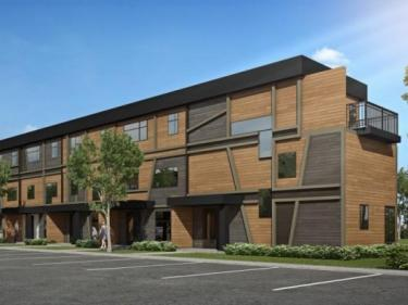 Hameau St-Jacques - townhouses - New houses in Quebec city region