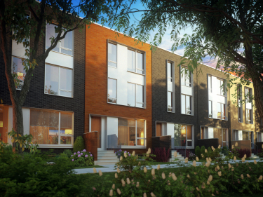 Quartier Greenwich - Homes - New houses in Montreal
