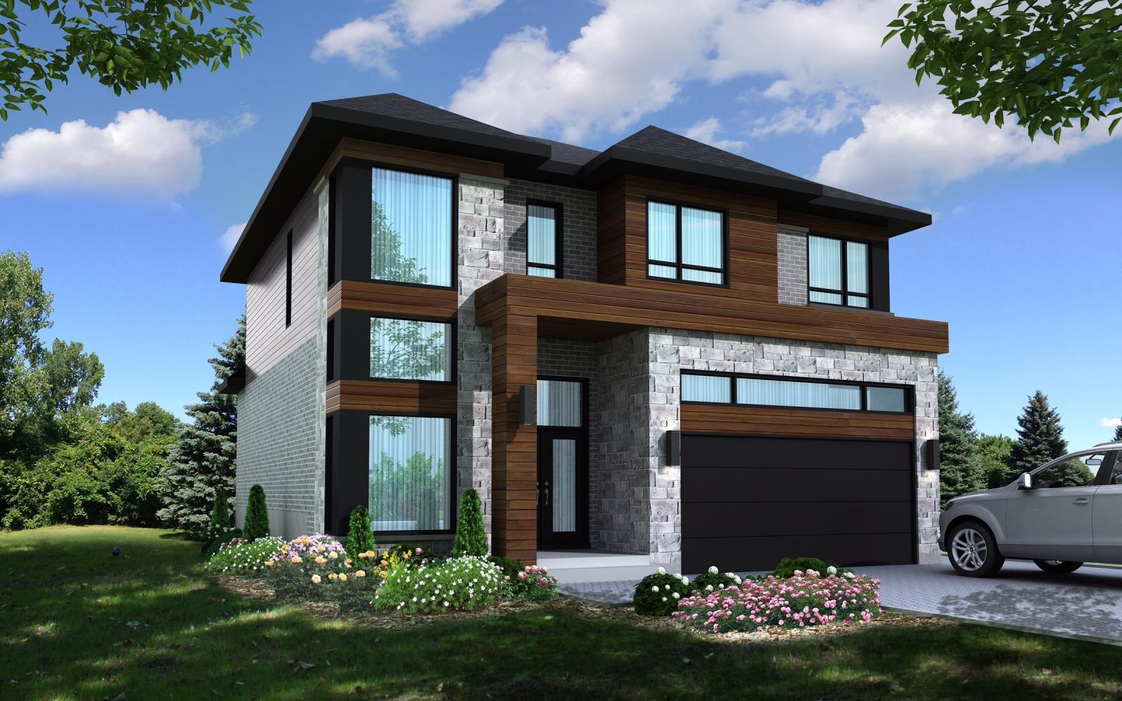 Secteur r maisons brossard for Maison neuve projet