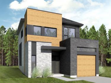 Les Jardins du Coteau - Cottages par Constructions Lapointe & Guilbault Inc. - Maisons neuves dans Lanaudière: 2 chambres