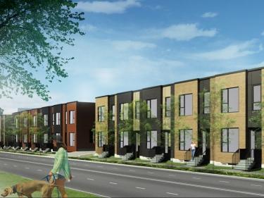 Projet ZAC - Maisons neuves à Saint-Laurent