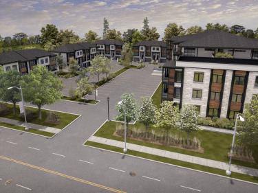Plateau Blainville - Condos à louer - phase 2 - Condos neufs dans les Laurentides avec garage: < 150000 $
