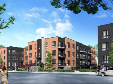 Le Desaulniers - phase 3 - New condos in HOMA: 2 bedrooms