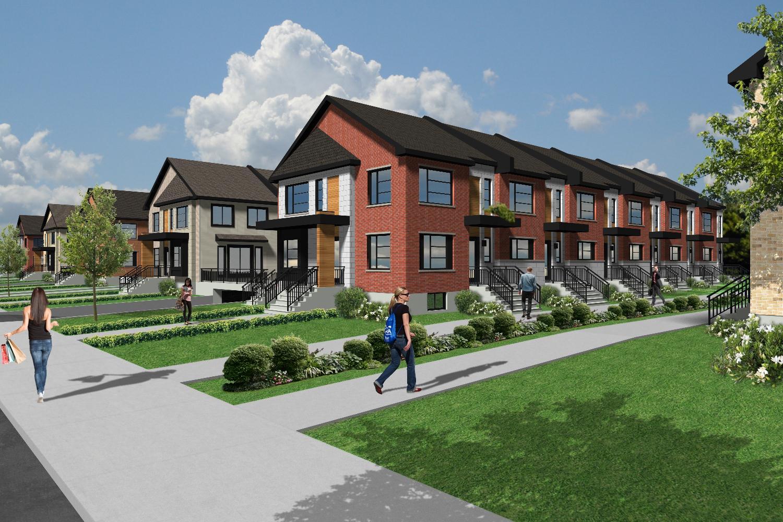 maisons neuves sur la rive nord - Maison Moderne Blainville