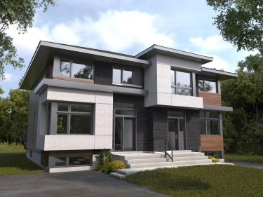 La Seigneurie de Mirabel - phase 1 - semi-detached homes - New houses in the Laurentians: 3 bedrooms