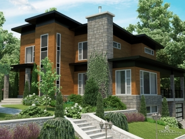 Domaine Latitude 46 - New houses in Lac-Beauport