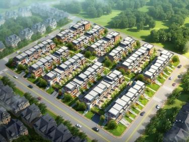 Bobois - phase 4 - maisons de ville - Projets immobiliers à LaSalle