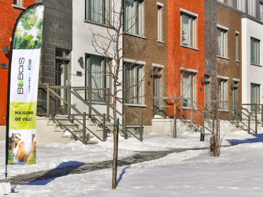 Bobois - phase 4 - townhouses - New houses in Montreal