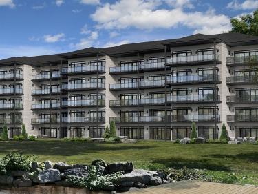 Le Nautiqua - condos - Projets immobiliers en Estrie