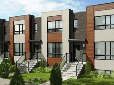 Havre du Fleuve - Townhouses - New houses in Montreal