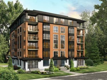 Quartier Rosenbloom - New condos in Sainte-Marthe-sur-le-Lac with pool: $150 001 - $200 000