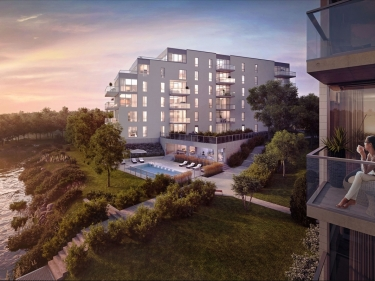 O Quai du Nord - phase 2 - New condos in Sainte-Marthe-sur-le-Lac with pool: $300 001 - $350 000