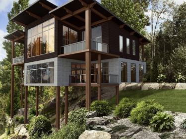 Bel Air Tremblant Resort & Residences - Maisons neuves à Harrington: 350 001 $ - 400 000 $