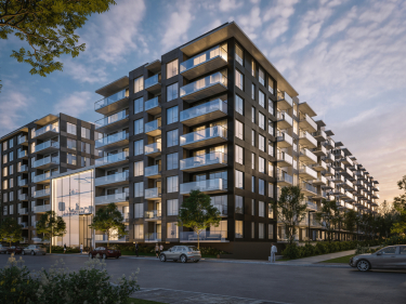 Bass 3 - New condos in Point Saint-Charles with model units with elevator near a train station with pool: $300 001 - $350 000