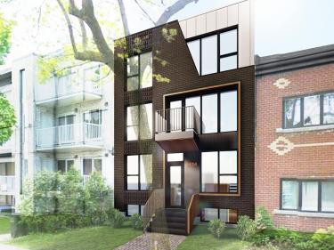 L'Ardoise 2 - Condos neufs dans Rosemont