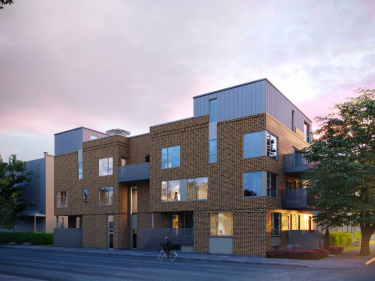 L'Ardoise 4 - New condos in Villeray: 2 bedrooms