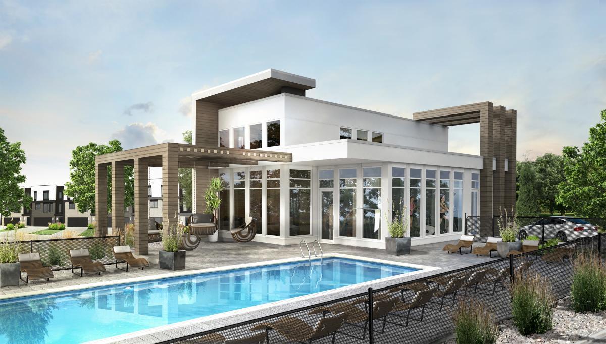 Les villas de la cit de mirabel maisons mirabel for Les villa moderne