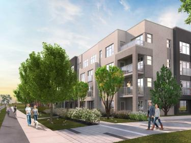 Éco-Quartier de la Gare - New condos in Saint-Basile-le-Grand: < $150 000