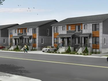 Le King Edward - New houses on the South-Shore