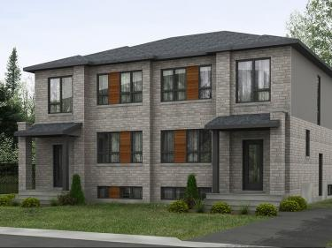 Le Lépine - Maisons neuves sur la Rive-Sud avec unités modèles