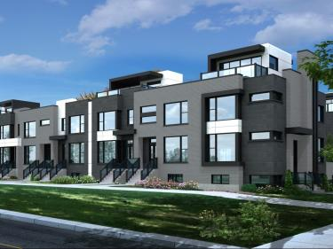 PurUrbain Candiac - 1st phase - New houses on the South-Shore