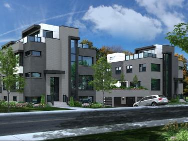 PurUrbain Candiac - phase I - Maisons neuves sur la Rive-Sud: 2 chambres
